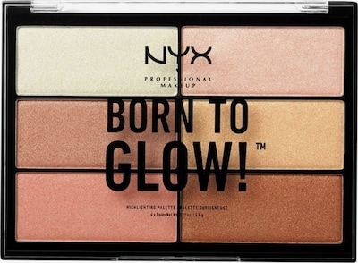 NYX Professional Makeup Born To Glow Highlighter Palette in, Produktansicht