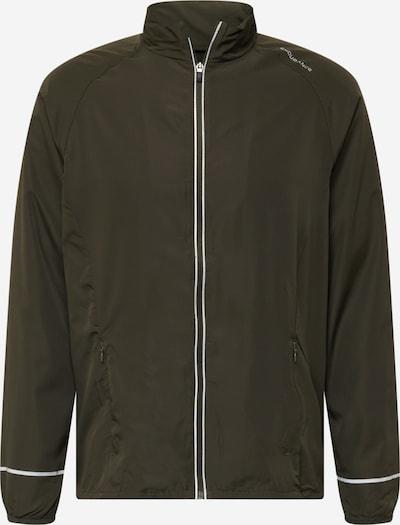 ENDURANCE Athletic Jacket in Dark green / White, Item view