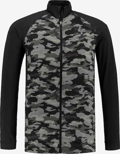JP1880 Sportjacke in grau / schwarz, Produktansicht