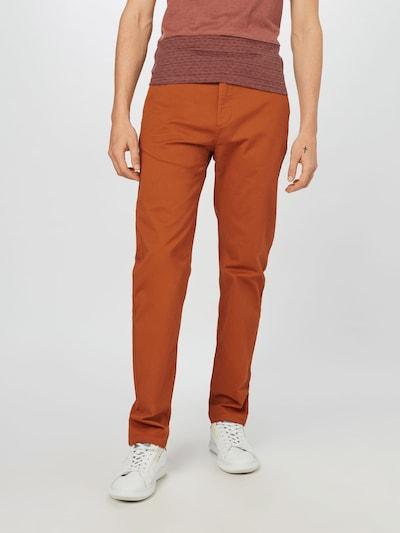 SCOTCH & SODA Chino hlače 'STUART' | karamel barva, Prikaz modela