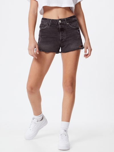 Jeans 'HANNAH' River Island pe negru denim, Vizualizare model