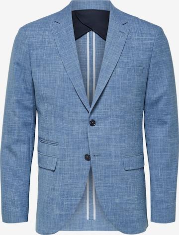 Veste de costume 'Oasis' SELECTED HOMME en bleu