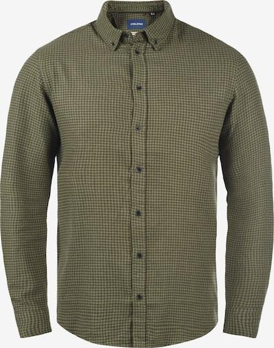 BLEND Hemd 'Flinn' in grün / dunkelgrün, Produktansicht