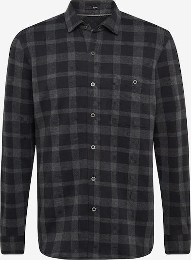 Mavi Hemd in grau / schwarz, Produktansicht