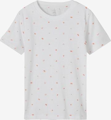 NAME IT Shirt 'Fallon' in Weiß