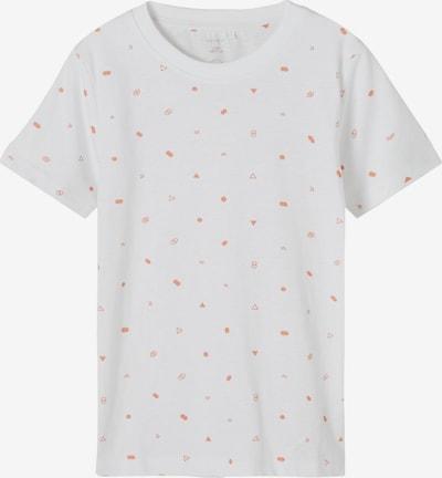 NAME IT Tričko 'Fallon' - korálová / bílá, Produkt