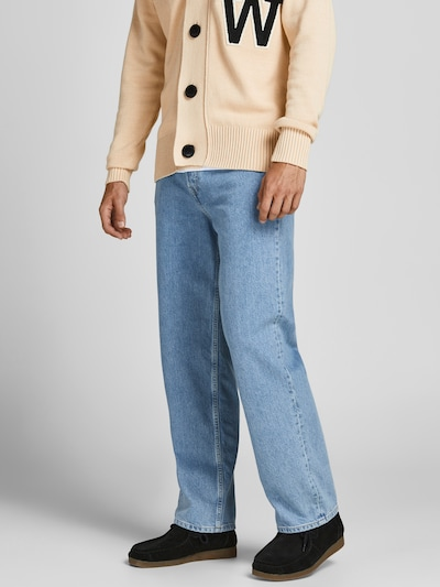 JACK & JONES Jeans 'Eddie' in hellblau, Modelansicht