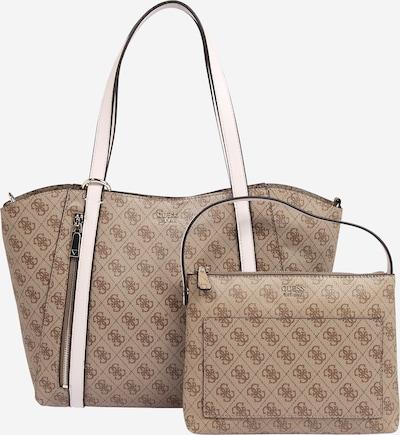 GUESS Shopper 'NAYA' in braun / hellbraun, Produktansicht
