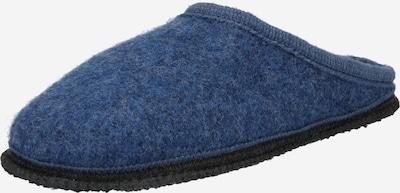 BECK Hausschuh in dunkelblau, Produktansicht