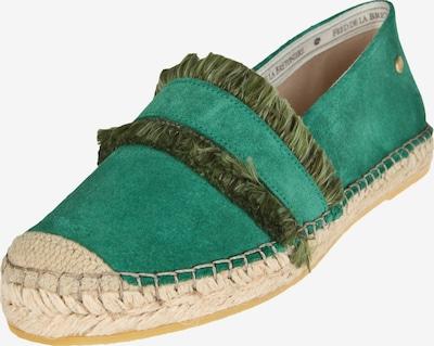 Fred de la BretoniÈre Espadrille Loafer mit Fransen in türkis / grün, Produktansicht