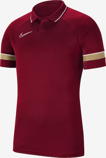 NIKE Sportshirt 'Academy' in puder / rubinrot / weiß, Produktansicht