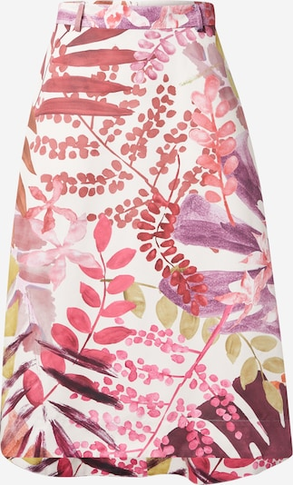 MAX&Co. Skirt 'FREDDURA' in Mixed colors / Red / White, Item view