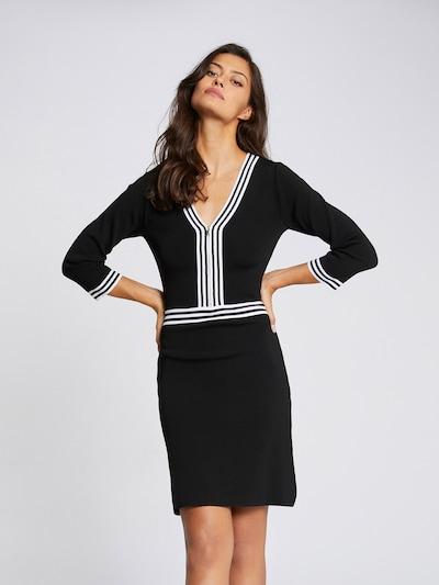 Morgan Kleid 'RMFATA' in schwarz / weiß, Modelansicht