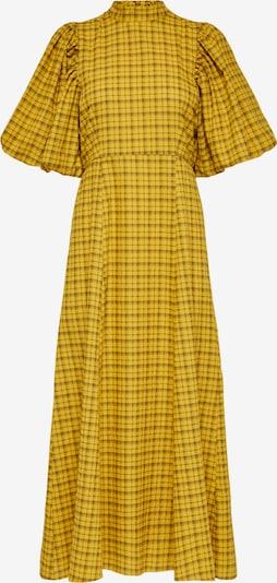 SELECTED FEMME Kleid 'CHECKIE' in braun / gelb, Produktansicht