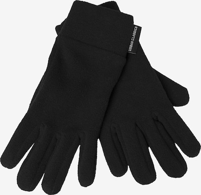 Urban Classics Wanten ' Polar Fleece Gloves ' in de kleur Zwart, Productweergave
