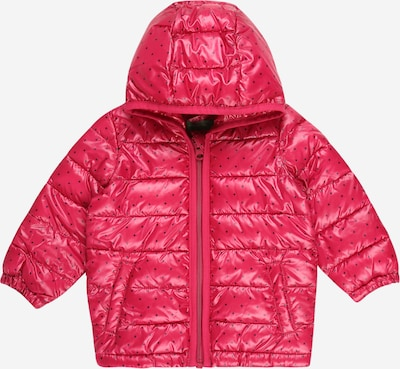 UNITED COLORS OF BENETTON Zimná bunda - ružová / čierna, Produkt