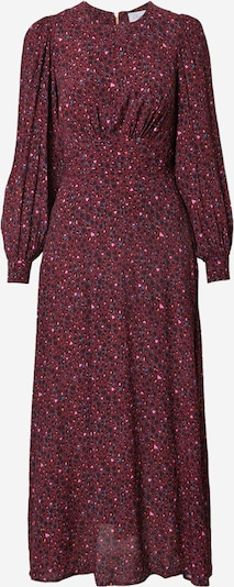Closet London Dress in Mixed colours / Burgundy, Item view
