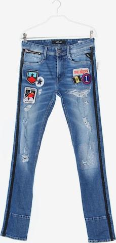REPLAY Skinny-Jeans in 28 x 32 in Blau