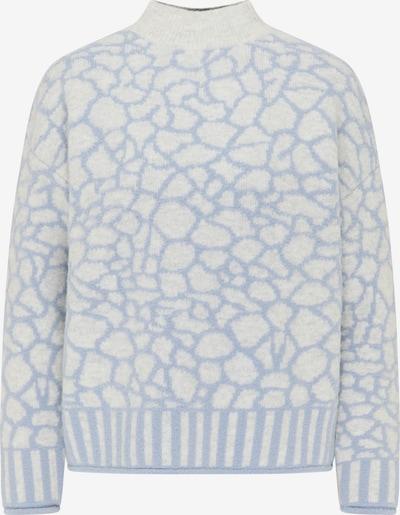 MYMO Pullover in himmelblau / weiß, Produktansicht