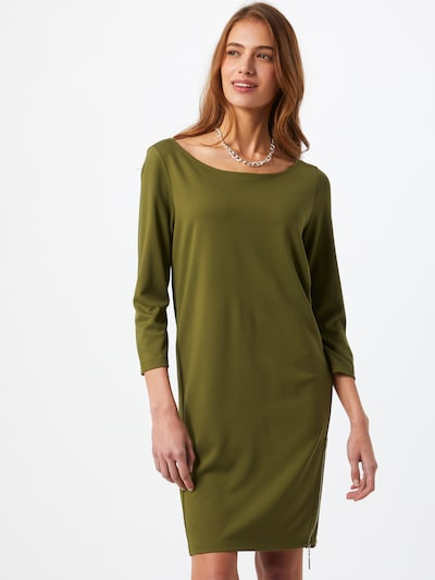 COMMA Dress in Olive, View model
