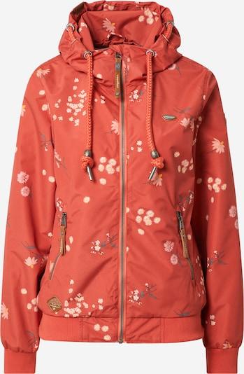 Ragwear Функционално яке 'Nuggie Flowers' в пъстро / оранжево-червено, Преглед на продукта