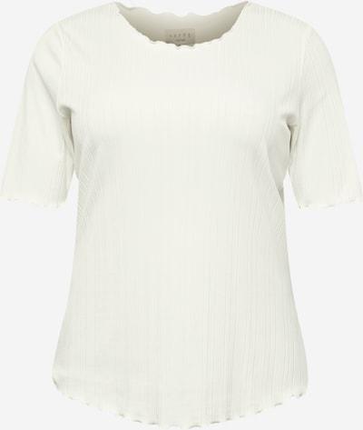 KAFFE CURVE T-Shirt 'Vina' in weiß, Produktansicht