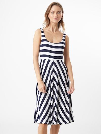 Tommy Jeans Letní šaty - námořnická modř / bílá, Model/ka