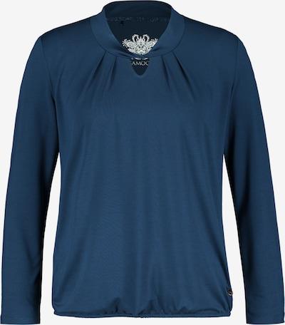 SAMOON Shirt in dunkelblau, Produktansicht