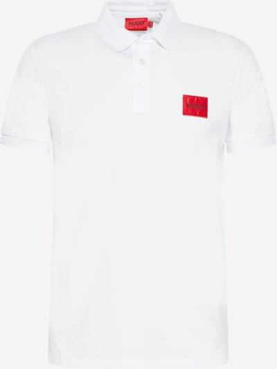 HUGO Poloshirt 'Dereso212' in rot / schwarz / weiß, Produktansicht