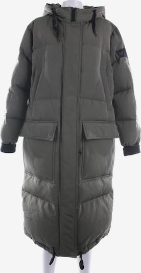 True Religion Wintermantel in S in khaki / schwarz, Produktansicht