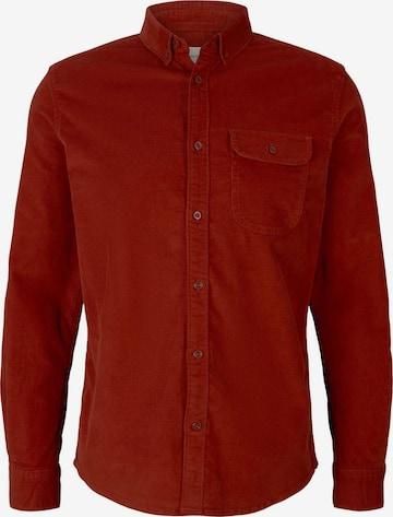 TOM TAILOR Hemd in Rot
