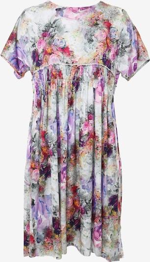 Madam-T Sommerkleid 'OFELIA' in grau / lila / pink, Produktansicht