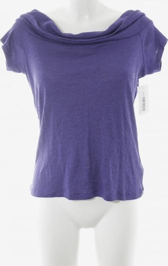 Morgan Strickshirt in L in dunkellila, Produktansicht