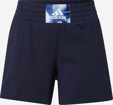 ADIDAS PERFORMANCE Sportbroek in Blauw