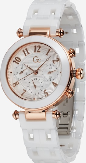 Gc Analog watch in rose gold / white, Item view
