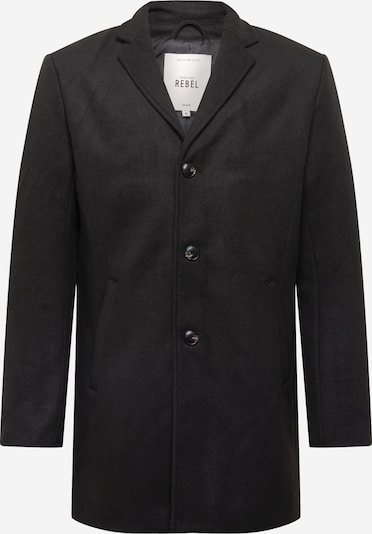 Redefined Rebel Between-seasons coat 'Herman' in black, Item view