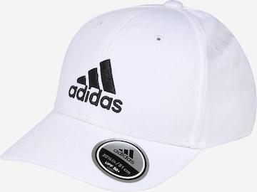 ADIDAS PERFORMANCE Spordimüts, värv valge