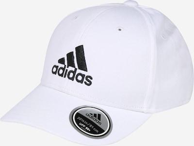 ADIDAS PERFORMANCE Casquette de sport en noir / blanc cassé, Vue avec produit