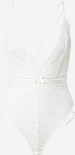 ABOUT YOU x hunkemöller Body 'Riley' en blanc, Vue avec produit