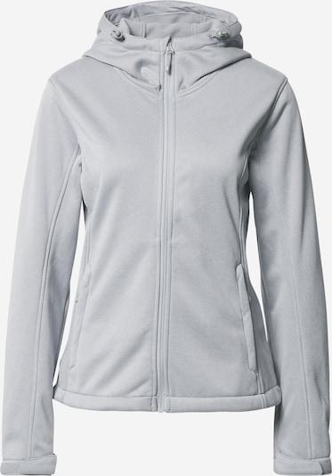 4F Outdoorová bunda - šedý melír, Produkt