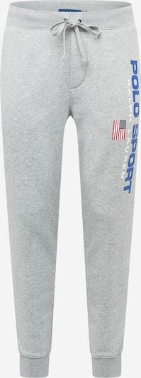 Pantaloni POLO RALPH LAUREN di colore blu reale / grigio / rosso / bianco, Visualizzazione prodotti