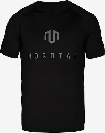 MOROTAI Functioneel shirt in de kleur Zilvergrijs / Zwart, Productweergave