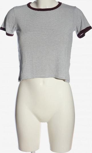 Pull&Bear Ringelshirt in S in schwarz / weiß, Produktansicht