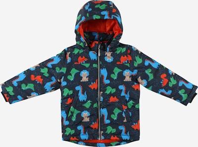 NAME IT Jacke 'MAX' in nachtblau / hellblau / grau / limette / orangerot, Produktansicht