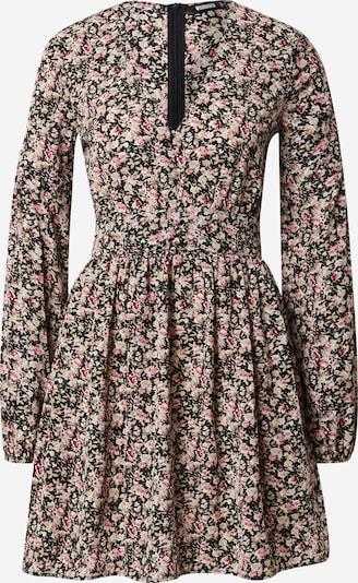 Suknelė iš Missguided , spalva - smėlio / rožių spalva / juoda / balta, Prekių apžvalga