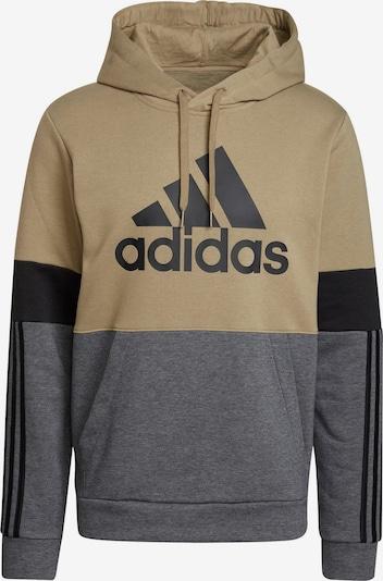 ADIDAS ORIGINALS Sweatshirt in dunkelgrau / oliv / schwarz, Produktansicht