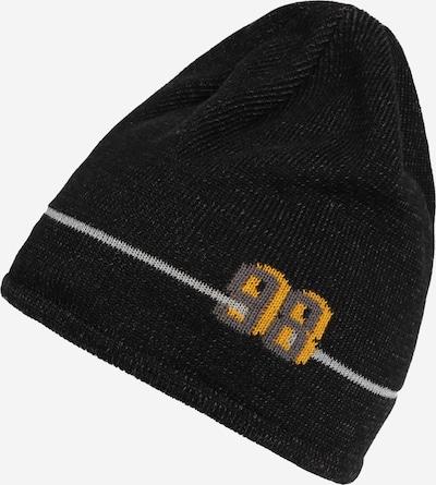 Megzta kepurė 'Reflex 98' iš MAXIMO , spalva - geltona / pilka / juoda, Prekių apžvalga