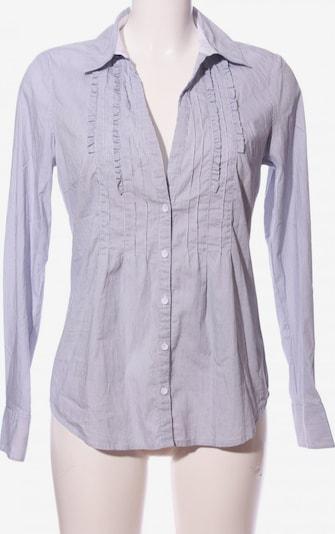 Esprit Collection Langarmhemd in M in hellgrau / schwarz / weiß, Produktansicht