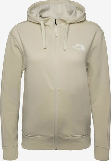 THE NORTH FACE Sweatjacke ' Exploration ' in beige, Produktansicht