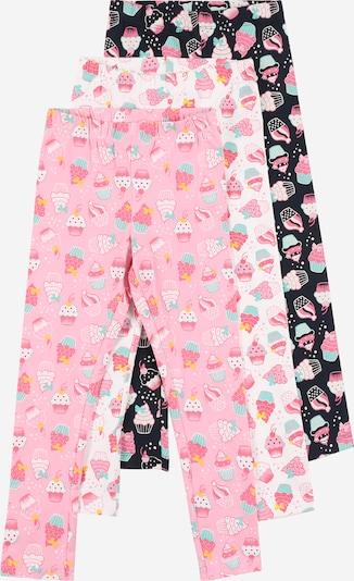 Guppy Leggingsit 'FINJA' värissä yönsininen / minttu / vaaleanpunainen / valkoinen, Tuotenäkymä